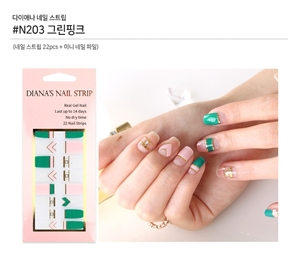 [Diana's Nail Strip] Nail Sticker 203