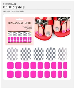 [Diana's Nail Strip] Pedi Sticker 1008