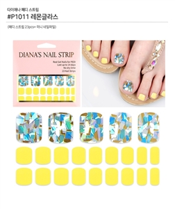 [Diana's Nail Strip] Pedi Sticker 1011
