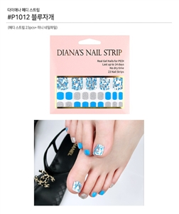 [Diana's Nail Strip] Pedi Sticker 1012