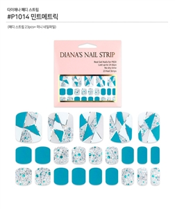 [Diana's Nail Strip] Pedi Sticker 1014