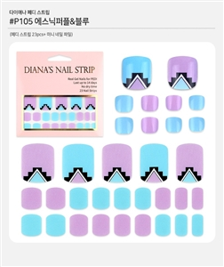 [Diana's Nail Strip] Pedi Sticker 105