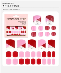[Diana's Nail Strip] Pedi Sticker 112