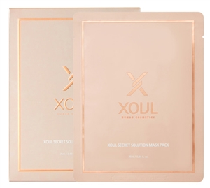 XOUL SECRET SOLUTION MASK PACK 1Box=5ea