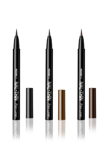 New Color Added [PASSIONCAT] NAL-THIN Pen Liner (1:Black/2:Brown/3:Dark Brown)