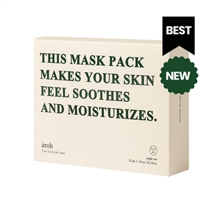 (2+1=3Boxes,30ea) aroh Centella Herb Cooling Mask Pack (1Box=10ea)