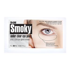(2+1) The Orchid Skin Smoky Under Clear Eye Patch (10sheets)