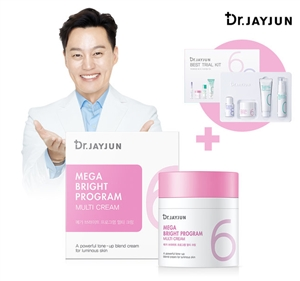JAYJUN MEGE BRIGHT PROGRAM MULTI CREAM 50ml + TRIAL KIT