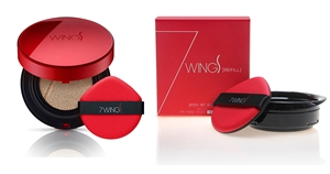 SEVEN WINGS SMOOTH RED CUSHION + REFILL (#21/#23)