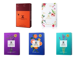 JAYJUN BEST SELLER MASK SET 5BOXES (50SHEETS)
