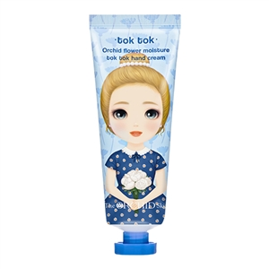 (1+1) The Orchid Skin Tok Tok Flower Moisture Hand Cream