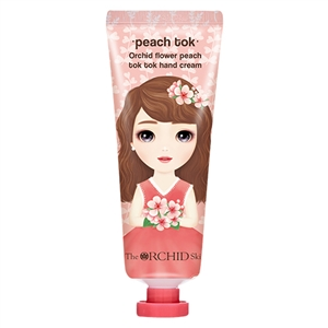 (1+1) The Orchid Skin Peach Tok Flower Peach Tok Tok Hand Cream