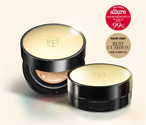 2 Sets (2본품+2Extra Refills) [Time Cosmetics] Triple Perfect Glow Cushion (본품+추가 리필) (#21/#23)