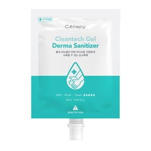 (20ea) Cellapy Cleantech Gel Derma Sanitizer 25ml * 20pack