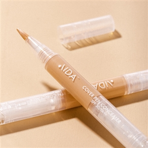 (New Package) AIDA Cosmetic Cover Pen Concealer SPF 30/PA++ Light Beige