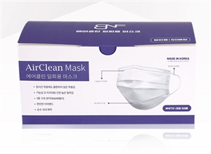 BNF AirClean Disposable Mask (50pcs) Made in Korea