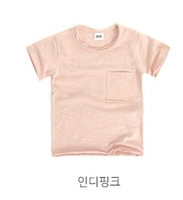 Pocket T (Blue/IndiPink)