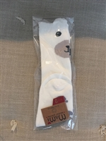 White Bear Knee Socks (3~4T)