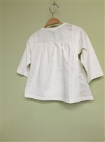 (Pre-Order) Ivory Back Shirring Top (S/M/L) (will ship within 1~2 weeks)