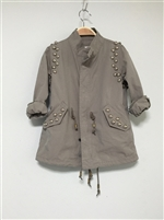 (Back-Order; 2nd Reorder) Luxury Stud Safari (S/M/L) (will ship within 1~2 weeks)