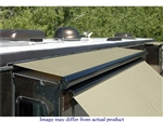 "Carefree UQ07762JV 70""-77"" RV Slide-Out Awning SideOut Kover III (Slide-Topper) with Wind Deflector - Black"