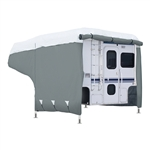 Classic Accessories 80-396-301001-RT PolyPro3 RV Cover For 6-8' Camper Trucks