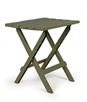 Camco Large Folding Side Table - Sage