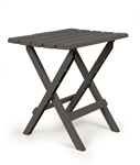 Camco Large Folding Side Table - Charcoal