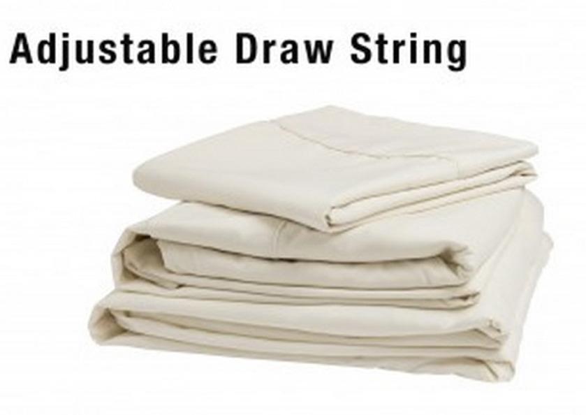 denver mattress 343530 rv collection cot and bunk adjustable ivory sheet set. Black Bedroom Furniture Sets. Home Design Ideas