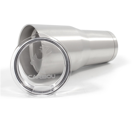 Camco 51862 Caribou Stainless Steel Tumbler - 30 oz.