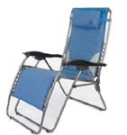 Faulkner 52295 Catalina Style Blue RV Recliner Chair XL