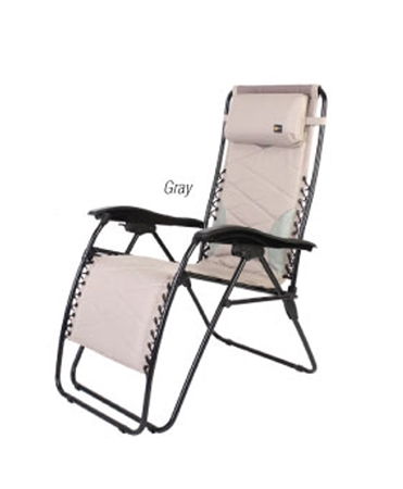 Faulkner Catalina Style Gray RV Recliner Chair - Standard