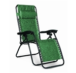 Camco 51811 Regular Zero Gravity Recliner Green Swirl