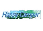 Illusion Inc. Happy Camper Decal