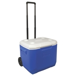 Coleman Wheeled 60 Quart Camping Cooler - Blue