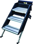"Lippert 678040 SolidStep Fold-Down RV Triple Steps - 26"" Width"