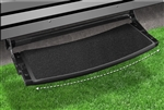 "2-0374 Outrigger Radius 22"" RV Step Cover - Black Onyx"