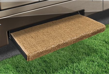 2-0059 Jumbo Wraparound Plus RV Step Rug - Harvest Gold