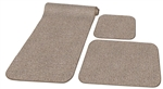 Prest-O-Fit Decorian 3 Piece RV Rug Set - Sandstone