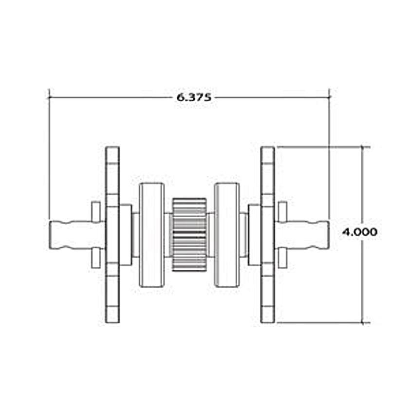 Lippert 045-122837 Standard 2 1/2