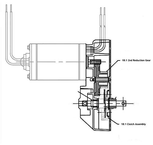 Lippert 191072 Venture Motor Replacement Gear Set