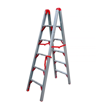 Telesteps 600FLD Double Sided Folding STIK Ladder - 6ft
