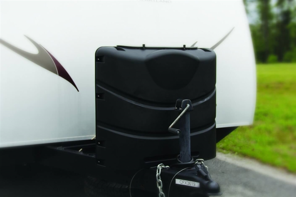 camco 40539 black propane tank cover. Black Bedroom Furniture Sets. Home Design Ideas
