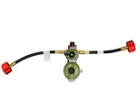 "Marshall Excelsior Excela-Flo High Capacity Auto Changeover Regulator - 24"" hose"