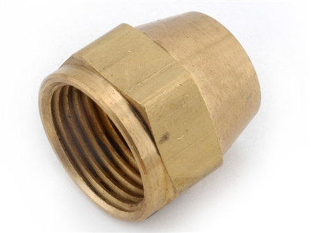 Anderson Brass Flare Nut - 3/8""