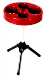 Outdoors Unlimited Tailgate-Mate Camping Table - Red