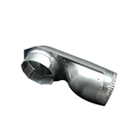 Splendide VI490D 90 Degree Dryer Vent Elbow