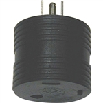 Surge Guard 09521-55-08 15Amp to 30Amp Round Molded Adapter
