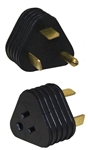 Surge Guard 09522-TR-08 30Amp to 15Amp Reverse Triangle Molded Adapter