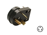 Surge Guard 09523-33-08 30 Amp Male Replacement Adapter